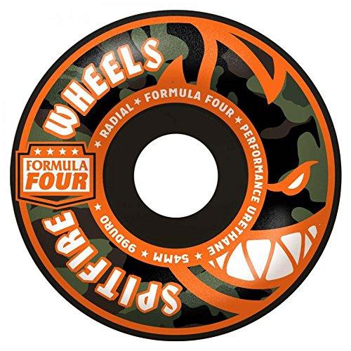 サイドボードエリート文芸Spitfire Formula Four Radial 99du Covert 54 mmスケートボードWheel 54 mmブラック