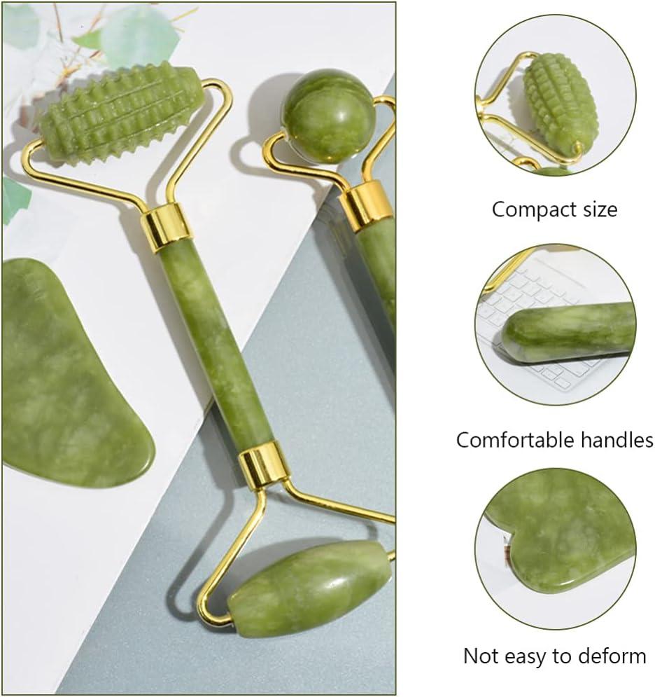 Jade Facial Roller Set