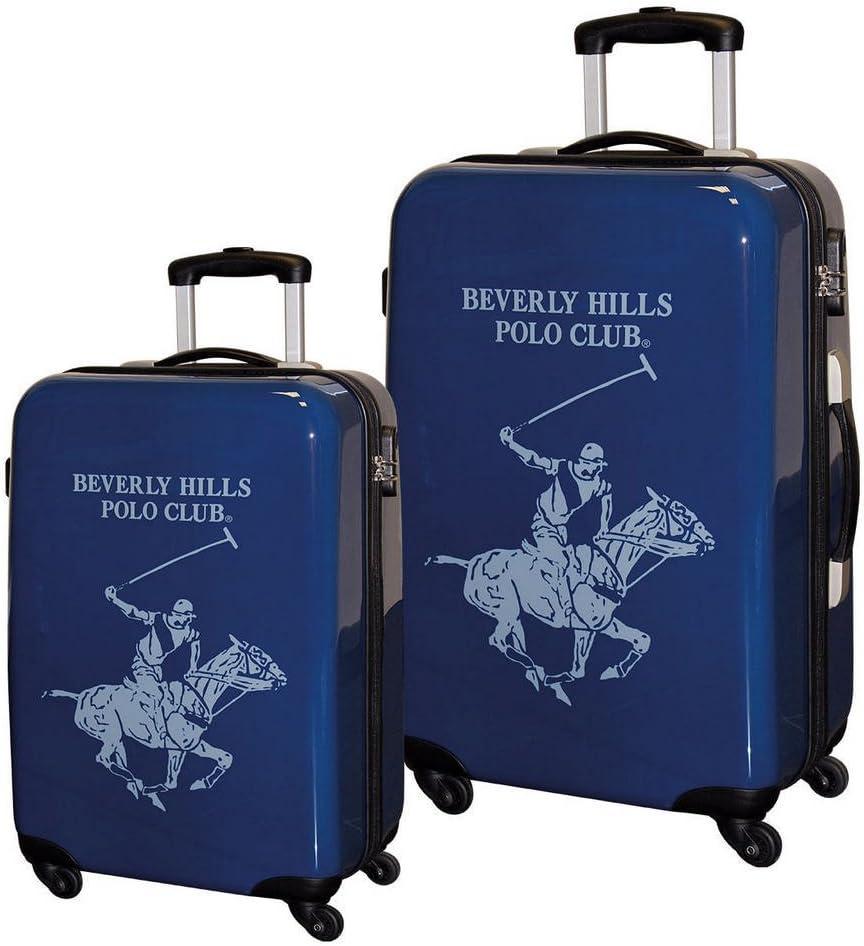 Beverly Hills Polo Club Juego de Maletas, 55/68 cm, ABS, 97 litros ...