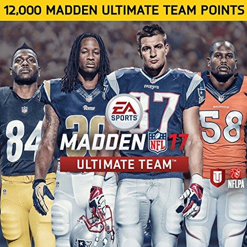 Madden NFL 17: 12000 Madden NFL 17 Points - PS4 [Digital Code]