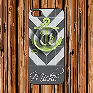 Customize with your name - Apple iPhone 5 / 5S Case New zigzag Design - AArt CN002