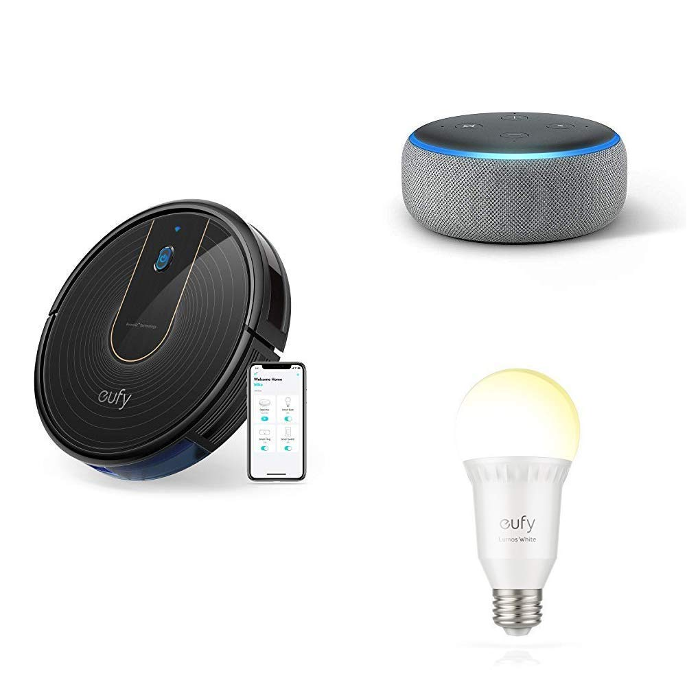 White Eufy Smart WiFi Accesories Vetro 6.5 x 6.5 x 14 cm 0.0001watts