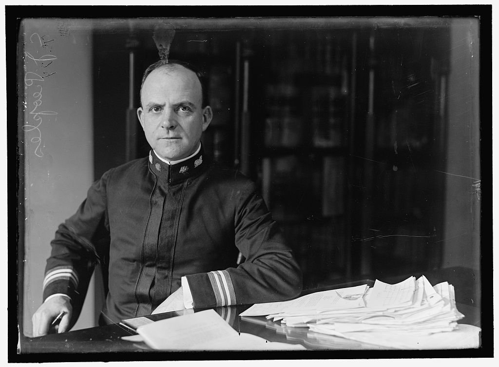 Vintography Reproduced 24 x 30 Photo Peoples, Christian Joy, Captain, U.S.N. 1917 Harris & Ewing a18