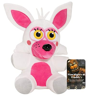 "Funko Five Nights at Freddy's Mangle Funtime Foxy 6"" Inch FNAF Plush: Toys & Games"