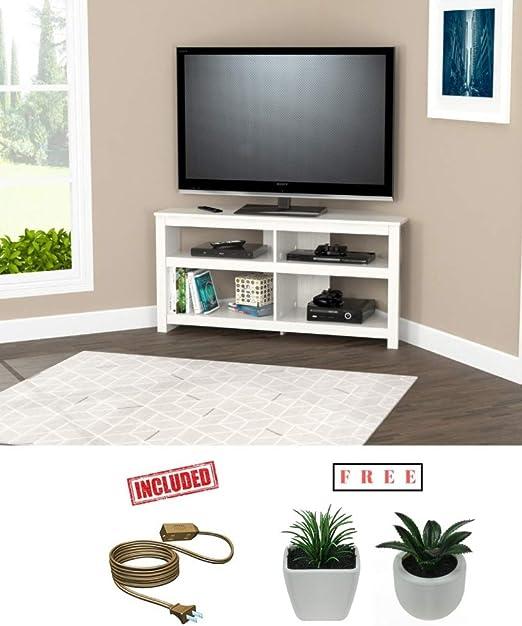 Inval Wengue - Mueble esquinero para televisor (Madera, 127 cm): Amazon.es: Juguetes y juegos