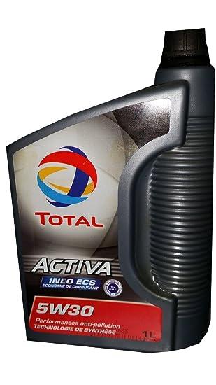 Lata 1 litro aceite Total 5w30 C2 Activa INEO