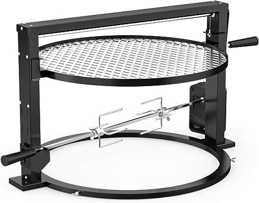 Onlyfire Santa Maria Style Grill Sistema de asador Accesorio de Rejilla de cocción Ajustable para Weber 55cm Hervidor de Agua Parrillas Patio Trasero: Amazon.es: Hogar