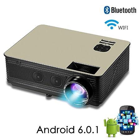 siberiantiger Proyector WiFi 4K,HD Proyector Familia,Inteligencia ...