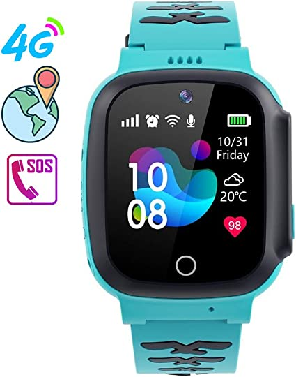 Amazon.com: OOLIFENG 4G WiFi Phone Call GPS Smart Watch, SOS ...