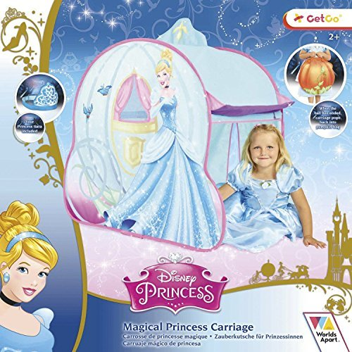 Disney Princess Cinderella's Magical Carriage Pop Up Tent (Dispatched From UK) by Disney