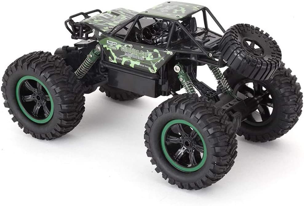 Luccky 15 1:12 4WD RC Cars 2.4G Radio Control Toys Buggy High Speed Trucks Off-Road for Children Car Rock Crawlers 4x4 Driving Double Motors Drive Bigfoot Remote Model Vehicle Toy Easter Gifts