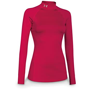 finest selection ab064 f5744 Under Armour Women s EVO ColdGear Infrared Mock Turtleneck