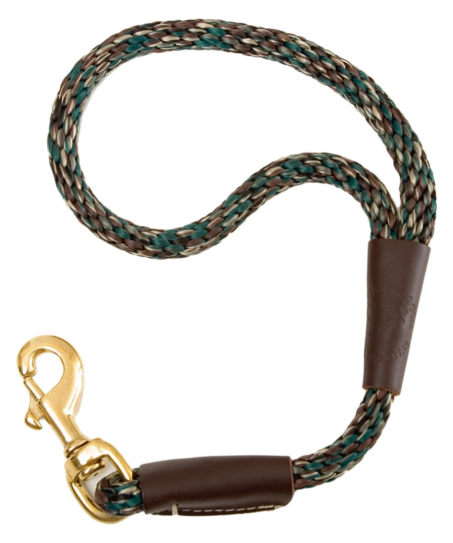 Mendota Products Traffic Lead Short Leash, 1 2 by 16-Inch, Camo