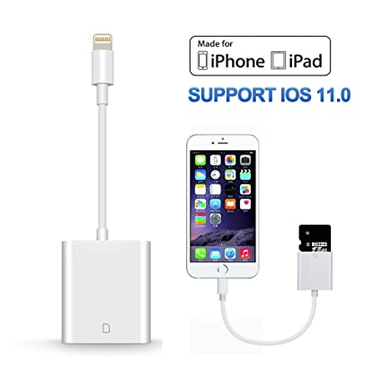Amazon iphone sd card reader tail and camera card reader iphone sd card reader tail and camera card reader lightning adapter for iphone publicscrutiny Image collections