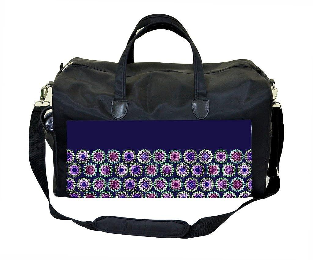 Gym Bag Colorful Half Pattern