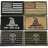 #4: Bundle 6 Pieces Tactical Military Morale Patch Set (A)
