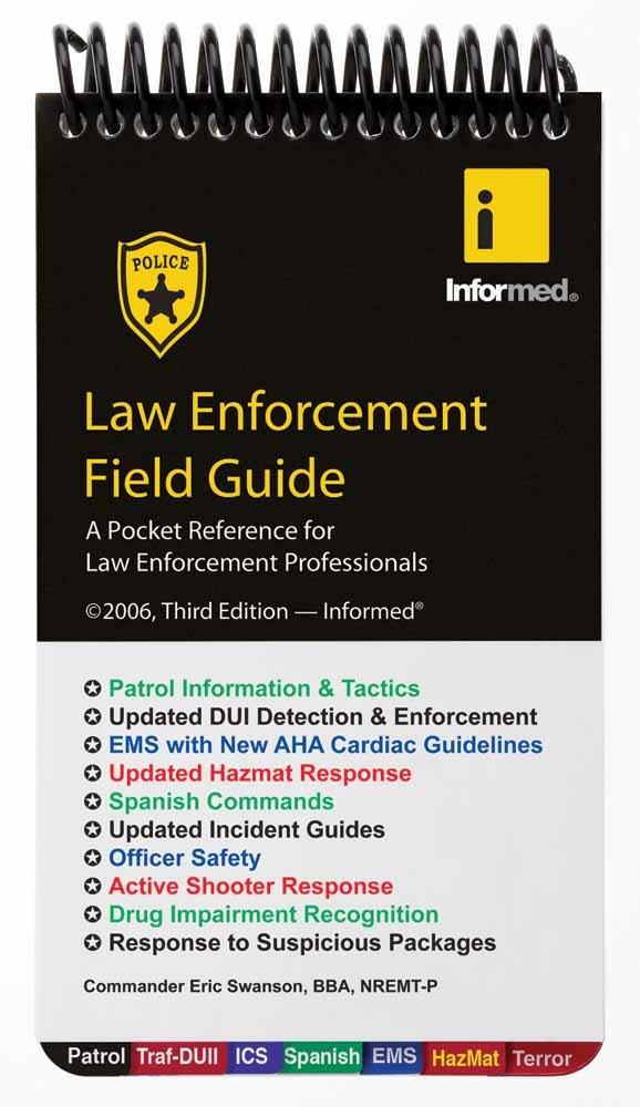 Law Enforcement Field Guide by Jones & Bartlett Learning