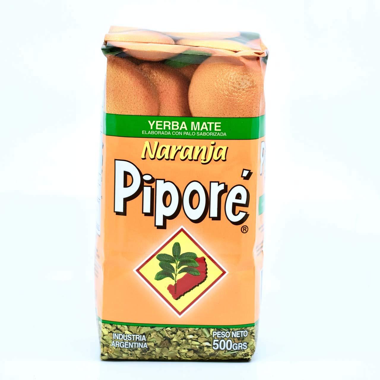 Yerba Mate Pipore Orange