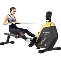 JKANGFIT Folding Rowing Machine - Rowing Machines for Home Use Indoor Magnetic Rower for Full Body with 16 Levels…