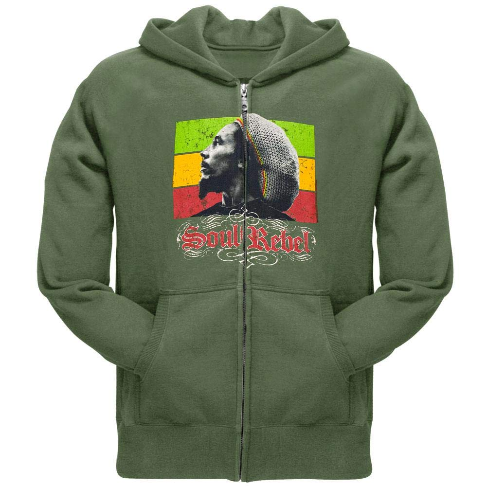 Bob Jersey Jumper Hood Wellcoda Take it Easy Marley Rasta Mens Contrast Hoodie