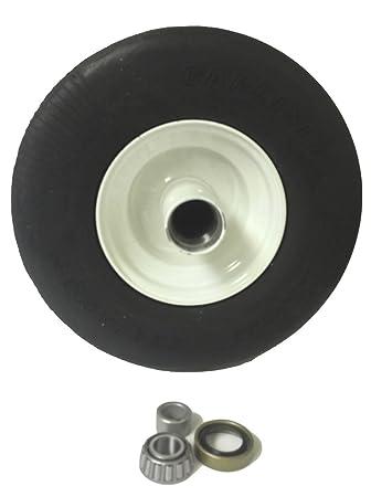 Amazon com : 13x500x6 Flat Free Lawn Mower Tire for Zero