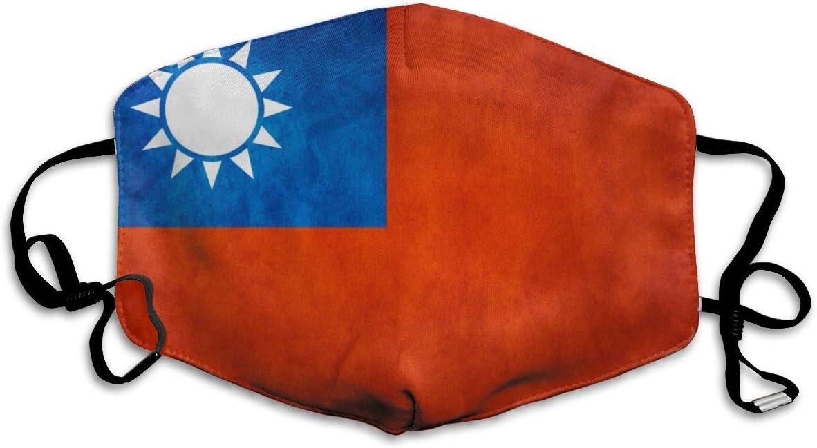 Flags Taiwan Taipei Taipei Assassins - Máscara unisex con protección UV, protección para el cuello