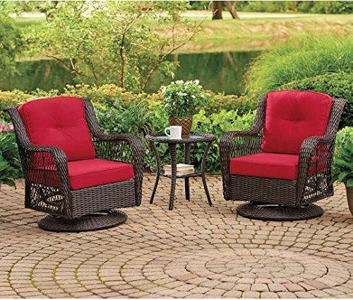 Wilson U0026 Fisher Pinehurst Red Replacement Cushion For Swivel Glider Chair  Set, 4 Piece