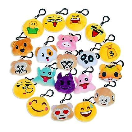 Amazon Niviy Plush Emoji Keychain Cute Emoji Faces Emoji Themed