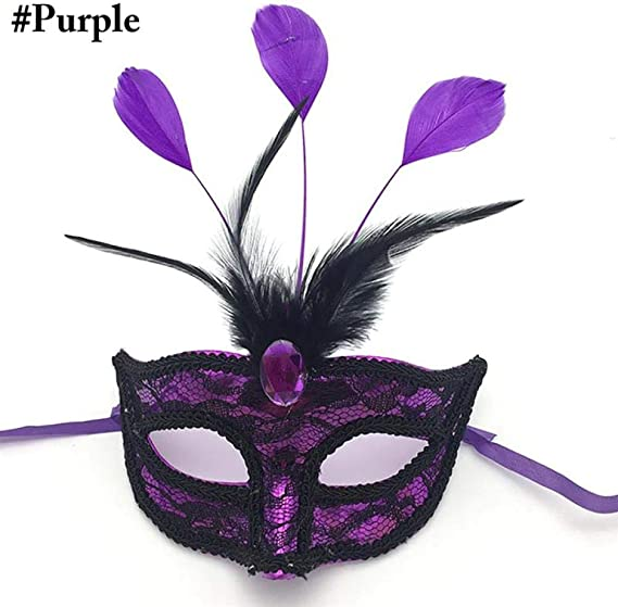 QTJKH Mascara De Halloween Máscara Veneciana Máscara Disfraces ...