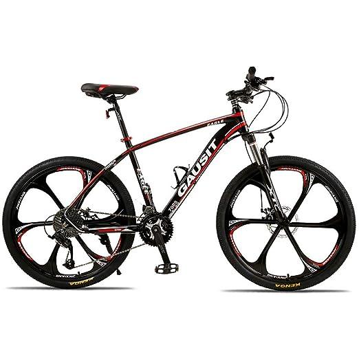 CYXYXXYX Ciclismo Bicicleta De Montaña Unisex 24 Velocidades 26 ...