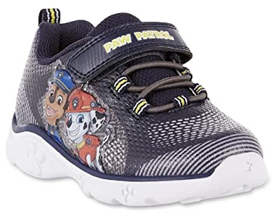 Nickelodeon Boy's Paw Patrol Light Up Shoes (6 M US Toddler, Navy)