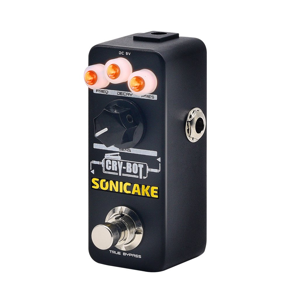 SONICAKE Cry-Bot Auto-wah Envelope Filter Guitar Effects Pedal for that Funky Mojo by SONICAKE