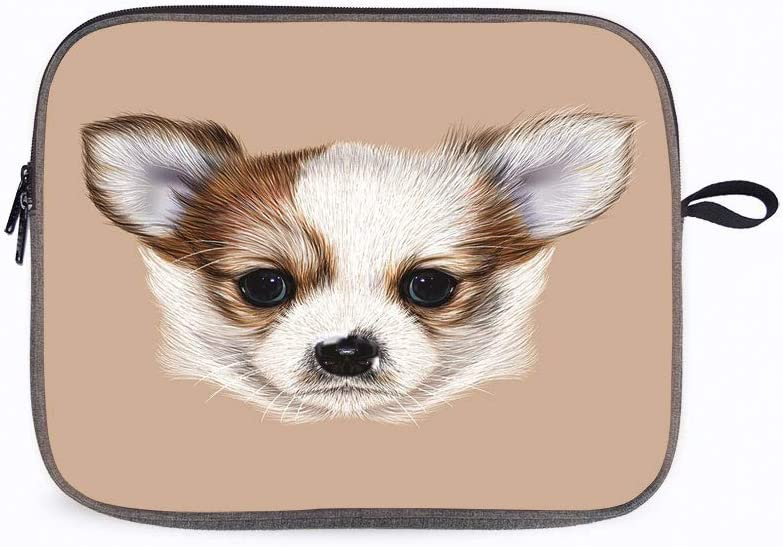 """Animal Puppy Furry 13"""" Laptop Sleeve Compatible with 13 inch MacBook Pro A2 159 A 1989 A 1706 A 1708"""