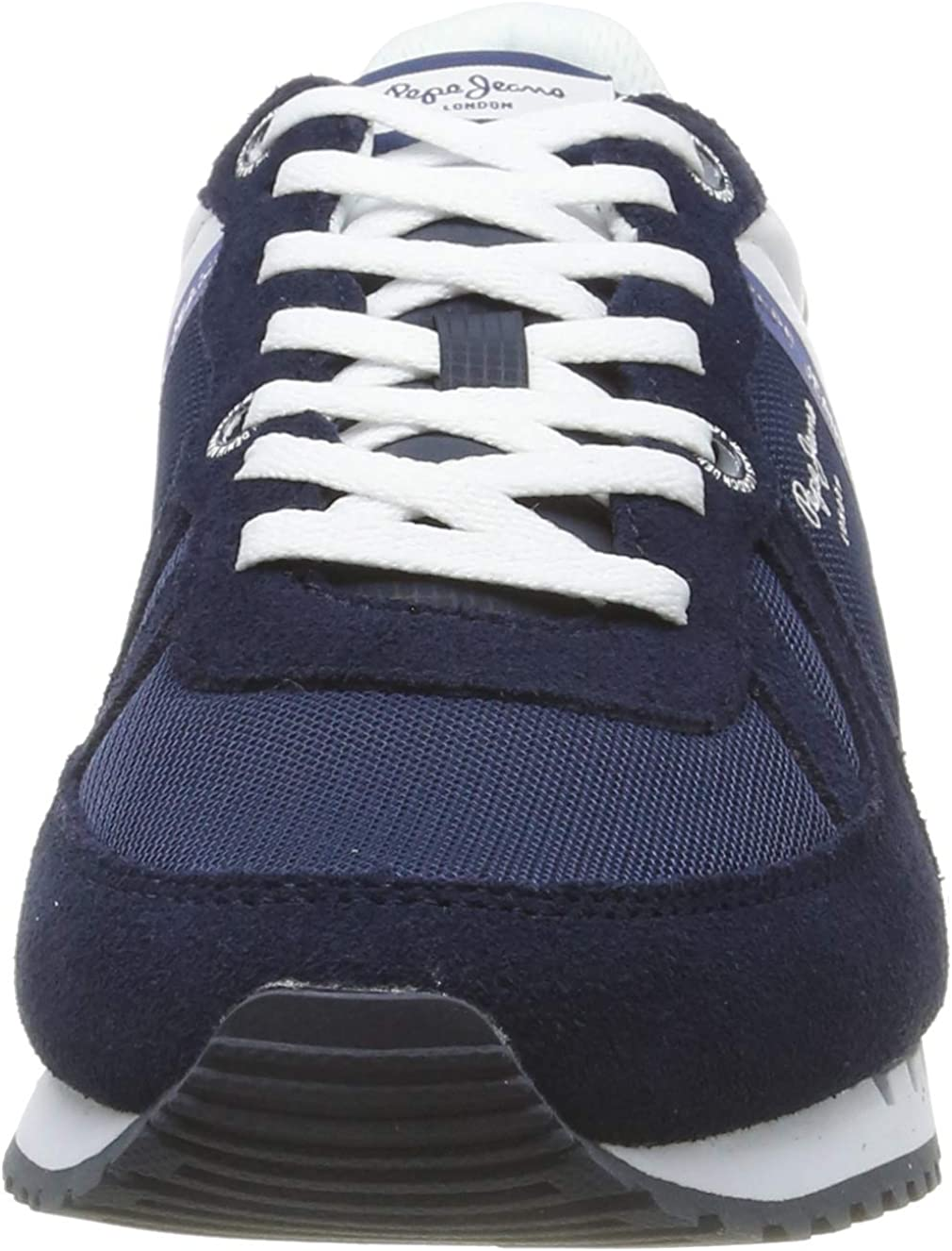 Pepe Jeans Tinker Zero Seal, Baskets Homme Bleu 582midnight 582