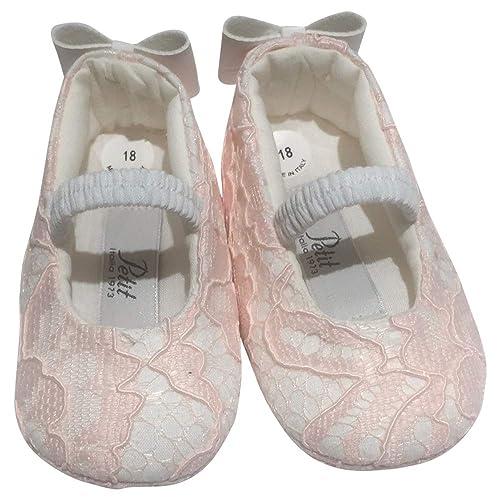 separation shoes 70c57 3dd92 PETIT Ballerine in Pizzo Taglia 17: Amazon.it: Scarpe e borse