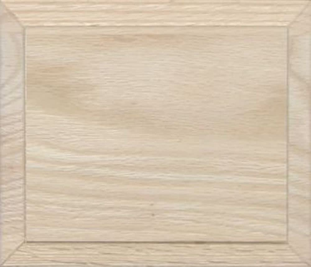 4H x 7W Unfinished Oak Flat Drawer Front with Edge Detail by Kendor