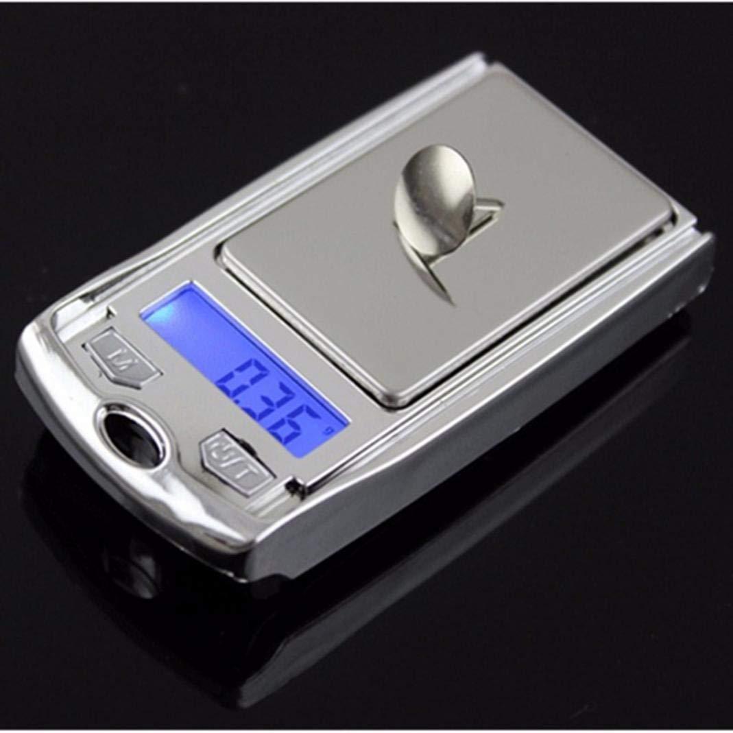 YSHtanj Digital Scale Interior Decoration Digital Scale 200g//0.01g Mini Portable Jewelry Electronic Scale Balance Car Key Ring Keychain