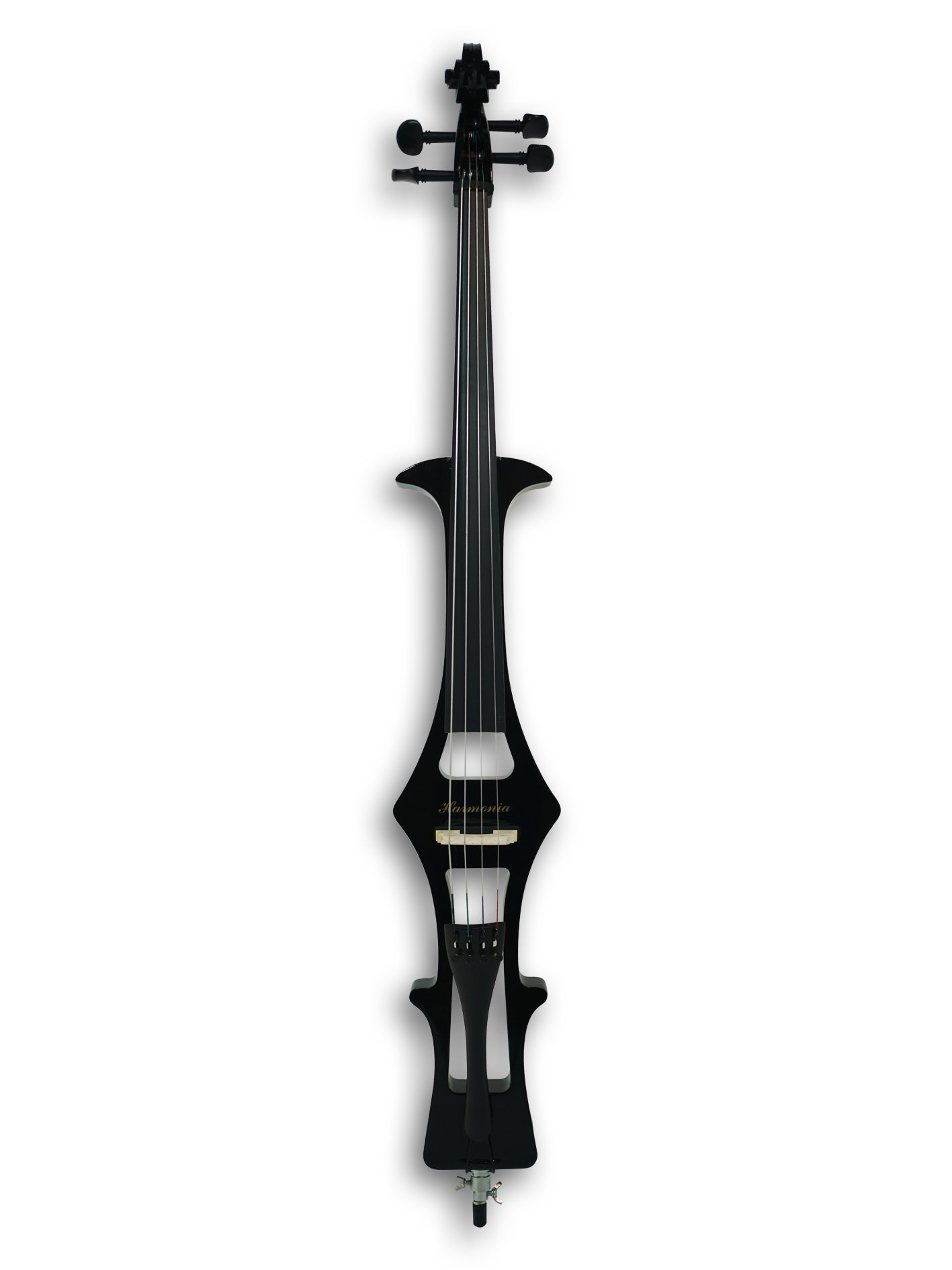 4/4 Electric Cello, w/a gig bag,bow,rosin, headphone, cable & battery by Harmonia