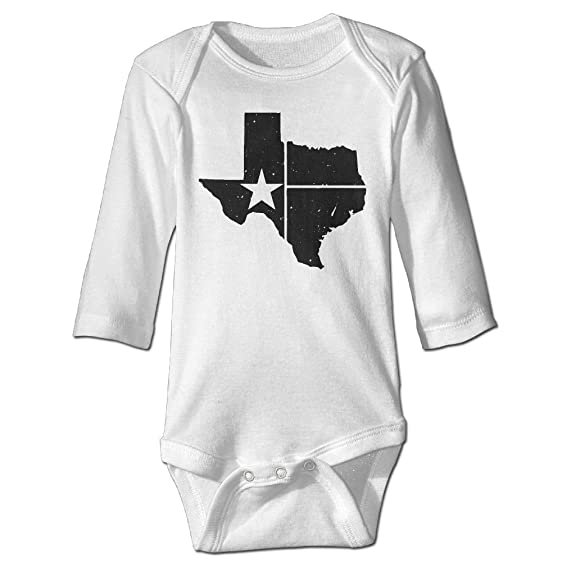 Amazon Com Hhh Distressed White Texas State Flag Autumn Long Sleeve