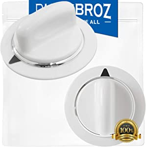 WE01X20374 Timer Knob (2-Pack) by PartsBroz - Compatible with GE Dryers - Replaces AP5805160, WE1M856, 3276177, PS8769912, WE1M589