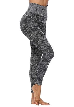 INSTINNCT Legging Sport Femme Sexy Pantalon Yoga Confortable ...