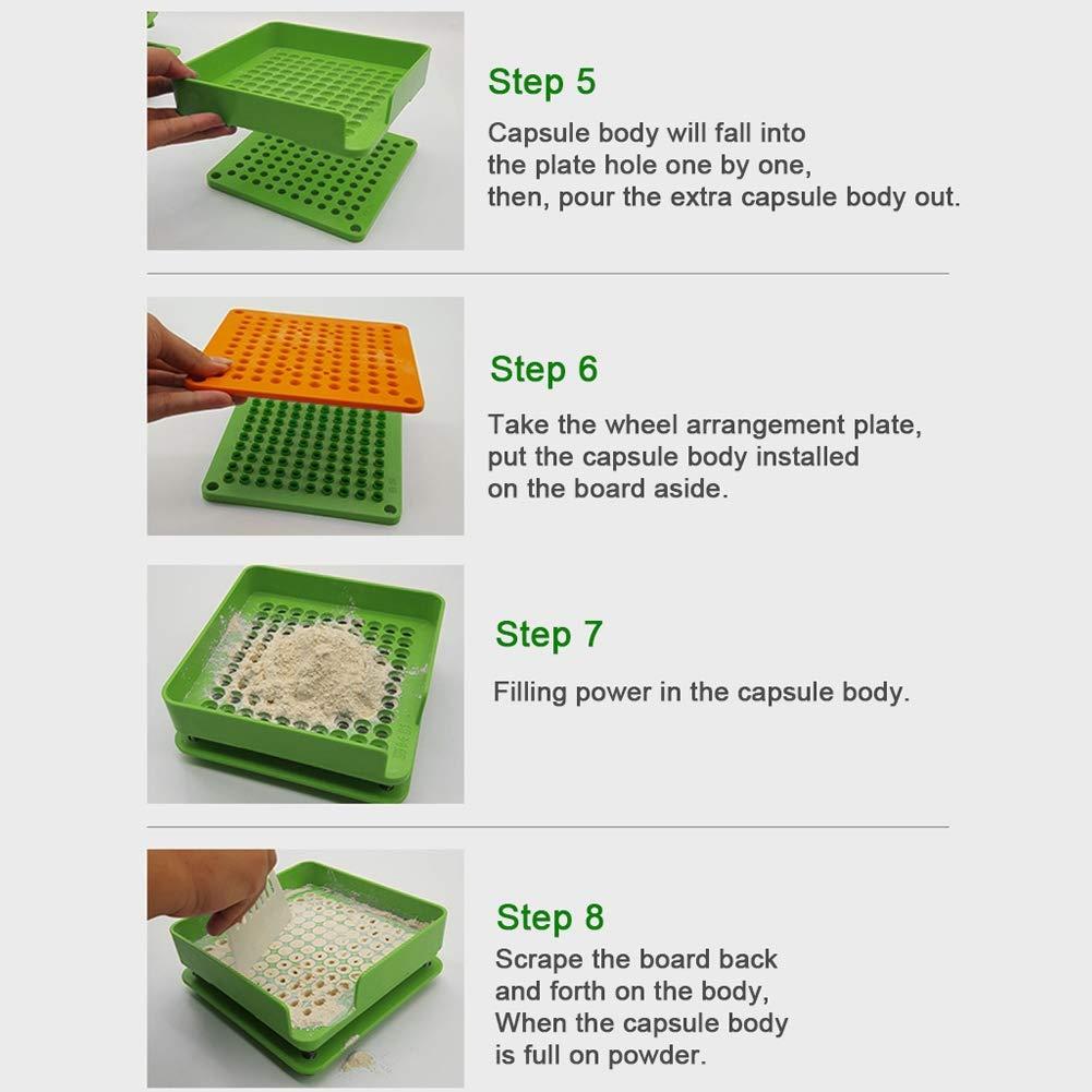 Gardening Garden & Outdoors 100 Holes Empty Capsule Filling Manual ...