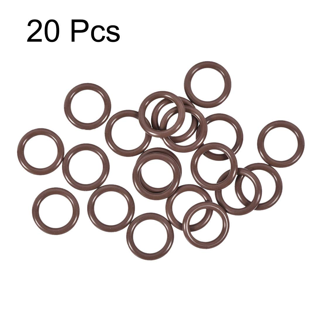 O-Ring Seals Buna-N; 11mm X 16mm X 2.5mm Width; Sealing Gasket Pack of 25