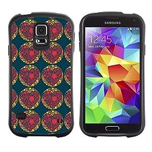 ArtSpace Premium Hybrid Back Case Cover Samsung Galaxy S5 V SM-G900 ( Dark Heart )