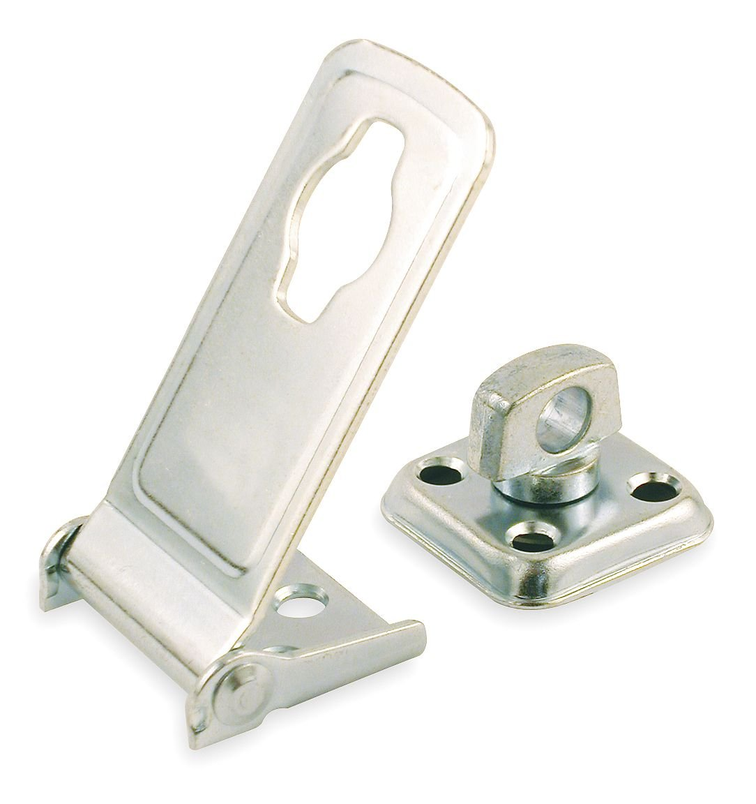 3-1//2 In Latching Safety Hasp Steel L