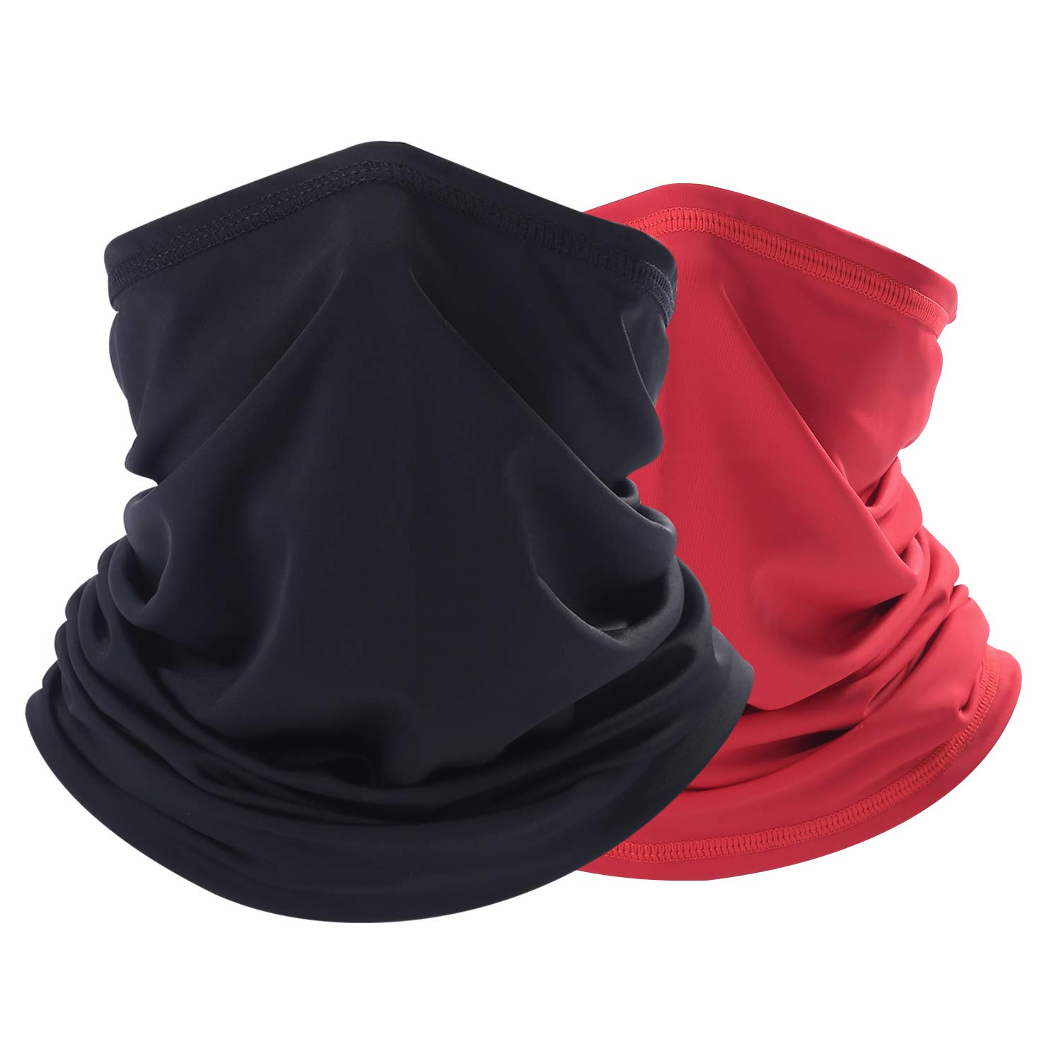THINDUST Summer Bandana Face Mask -Dust Sun UV Protection Neck Gaiter - for Men & Women