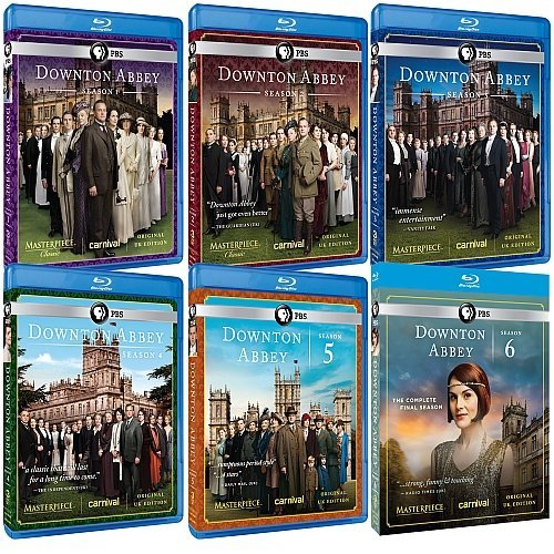 Masterpiece Classic: Downton Abbey: Seasons 1-6 Complete Collection (UK Edition) [Blu-ray] (Downton Abbey Season 1 Blu Ray)