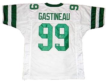 Autographed Mark Gastineau Jersey