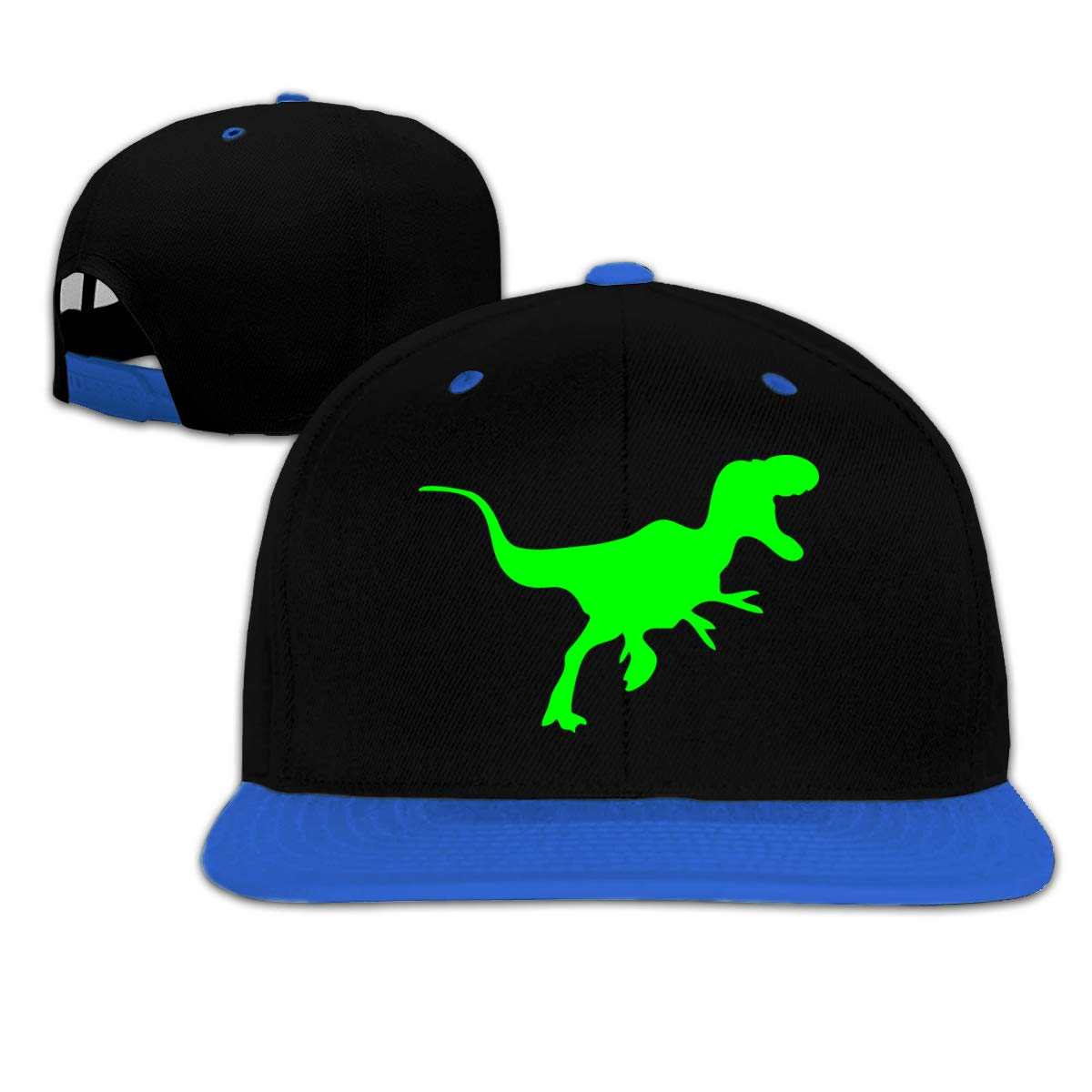 c5cb6efb48d3e5 Amazon.com: Sfspo Pp Black Big Hip Hop Caps Cotton Baseball Hat Green  Dinosaur Boy&Girl: Clothing