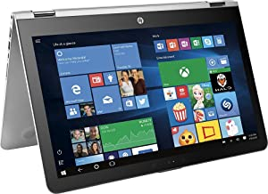 "Top Performance HP x360 15.6"" 2-in-1 FHD IPS 1080p Touchscreen Laptop 